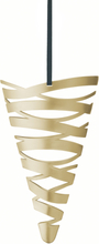 Stelton Tangle Kremmerhus stor Messing B: 14,5 H: 22 cm