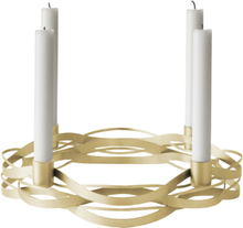 Stelton Tangle Adventsstake Messing B: 27 H: 6cm