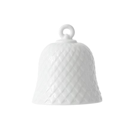 Lyngby Porcelæn - Rhombe Bell, Hvit