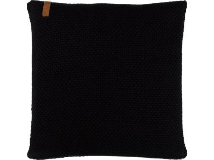 Södahl Sailor knit Pute 50 x 50 cm svart