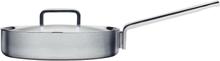 Iittala Tools Sautepanne m/ Lokk 26 cm Stål