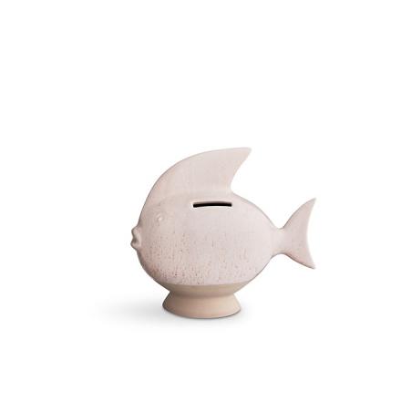 Kähler Sparedyr Rose Fisk H 14,5 B 6,5 cm