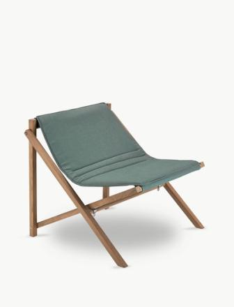 Skagerak Aito Lounge Stol Olivengrønn