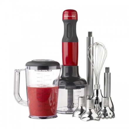 KitchenAid P2 Stavmiksersett Rød