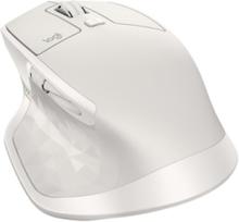 MX Master 2S Wireless Mouse - Light Grey - Mouse - Laser - 7 knappar - Grå