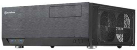 Grandia GD09 - Kabinett - Desktop-modell - Svart
