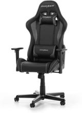 FORMULA F08-NG Krzes?o gamingowe - Czarno-szary - Skóra PU - 100 kg