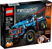 Technic 42070 Terränggående 6x6-bärgningsbil