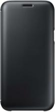 Galaxy J5 (2017) Wallet Cover - Black
