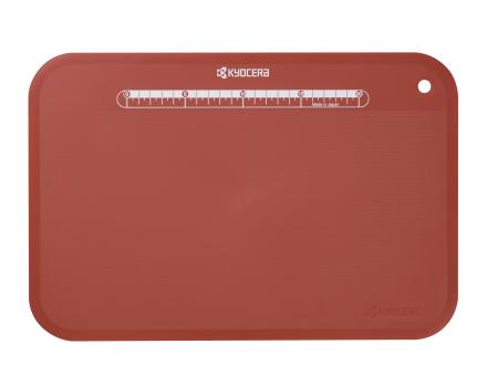 Kyocera Skjærebrett Rødt 37x25x2 cm