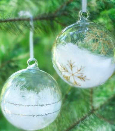 Magnor Himmel På Jord Julekule Sølv m / Sang 80 mm