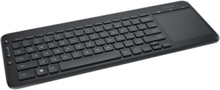 All-in-One Media Keyboard - ND - Tastatur - Nordisk - Svart