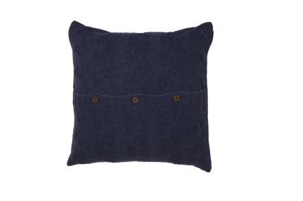 Borås Cotton Putetrekk Mont Blanc 50 x 50 Jeans Blue
