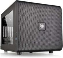 Core V21 - microtower - micro ATX - Chassi - Cube - Svart