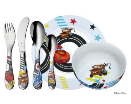 WMF Disney® Cars barneservise-sett 6 deler
