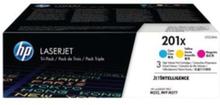 201X / CF253XM - Tonerkassett Färg (cyan, magenta, gul)