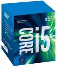 Core i5-7400 Kaby Lake CPU - 4 kärnor 3 GHz - LGA1151 - Boxed