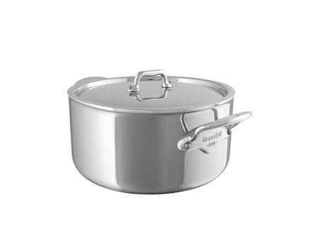 Mauviel Cook Style gryte med stållokk stål - 1,7 liter