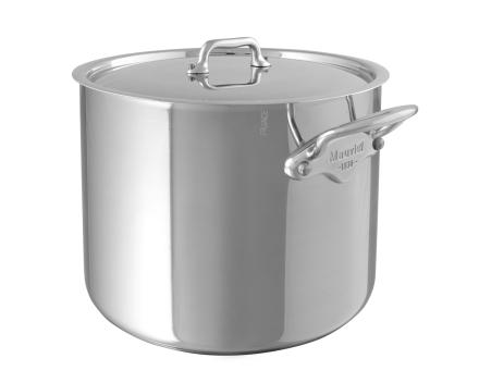 Mauviel Cook Style suppegryte med stållokk stål - 5,4 liter