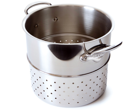 Mauviel Cook Style pastainnsats stål - 24 cm
