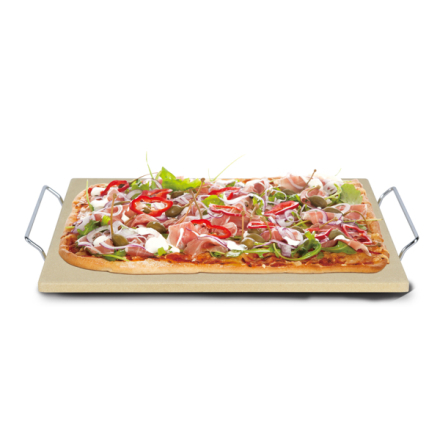 Modern House Pizza Angels Pizzastein Beige 40 cm