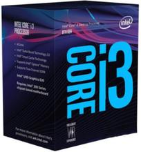 Core i3-8100 Coffee Lake CPU - 4 kärnor 3,6 GHz - LGA1151 - Boxed