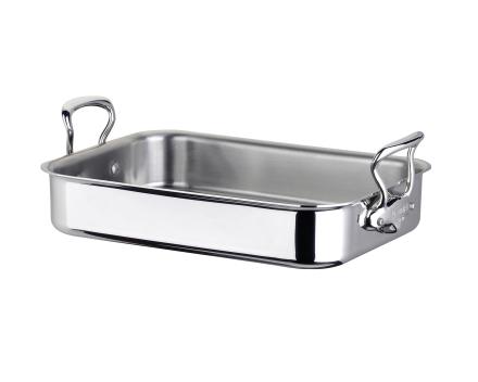 Mauviel Cook Style langpanne stål - 30 cm