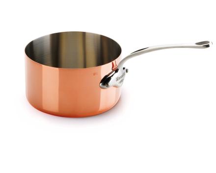 Mauviel M'150s kasserolle kobber/stål - 2,5 liter