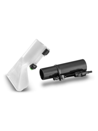 Upholstery spray extraction nozzle