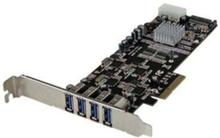 4 Port Quad Bus PCI Express PCIe USB 3.0