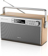 Bærbar radio AE5220 - DAB/DAB+/FM - Mono - Brun