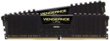 Vengeance LPX DDR4-3000 C15 BK DC - 16GB