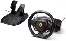 Ferrari 458 Italia - Rat, gamepad och pedalsæt - Microsoft Xbox 360