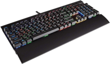 Gaming K70 LUX RGB MX Brown - ND - Tastatur - Nordisk - Svart