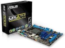 M5A78L-M LX3 Moderkort - AMD 760G - AMD AM3+ socket - DDR3 RAM - Micro-ATX