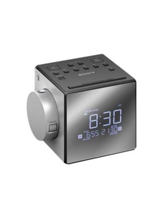 Klockradio ICF-C1PJ - klockradio - FM/MW - Mono - Silver