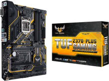 TUF Z370-PLUS GAMING Moderkort - Intel Z370 - Intel LGA1151 socket - DDR4 RAM - ATX