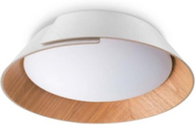 Nonagon 2x9.7W - White Ceiling lamp