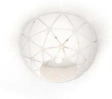 SANDALWOOD ceiling lamp white 1x60W 230V Ceiling lamp