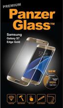 Samsung Galaxy S7 Edge - Gold (Premium Glass)