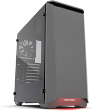 Eclipse P400S Tempered Glass - Anthracite - Chassi - Miditower - Grå