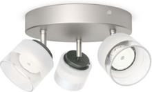 Fremont plate/spiral nickel 3x4W 230V Spot Skinner