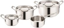 Premium Stainless Steel - Professional Series - Pot set 4 pcs (7 parts)