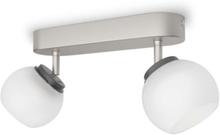 Balla bar/tube nickel 2x4W 230V Spot Skinner