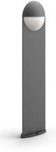 Capricorn post anthracite 1x6W