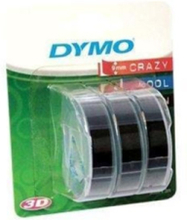 Tape 9mm x 3m - 3-pack Black