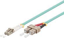 Fiber Optisk LC - SC OM3 - 1m