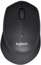 M330 Silent Plus - Mouse - Optic - 3 knappar - Svart