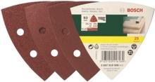 25-pcs. Delta sander sheet set G60/120/240