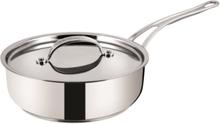 Premium Stainless Steel - Professional Series - Sautepan + lid 24 cm